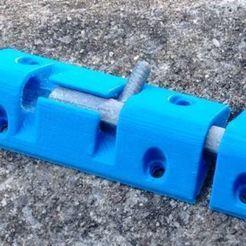 small_bolt.JPG Download free STL file Small sliding bolt • 3D printable design, Sagittario