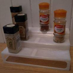 pic2.JPG Download free STL file Spice shelf (Warning! Bridging torture built in!) • Design to 3D print, Sagittario