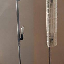 Télécharger objet 3D gratuit Nouvel abat-jour pour un lampadaire cassé (IKEA DUDERÖ), alberto_da_meduna