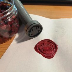 Download free 3D printing designs D&D Forgotten Realms Sealing Wax Stamps, Starjeff3D