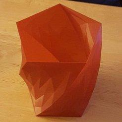 Free 3D printer designs Pencil jar or vase?, greenwing