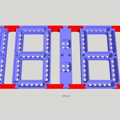 Download free 3D printer designs Giant DIGIT display or almost....., etiennedenison