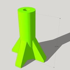 puit de vis.jpg Download free STL file Screwdriver shaft for SLOT CAR • 3D printable template, SlotED