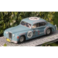 Free STL Base for JAGUAR MK VII - slot car 1:32, etiennedenison