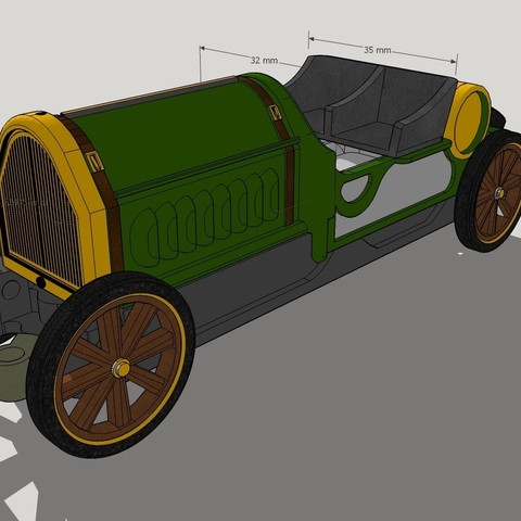 assembly cars.jpg Download OBJ file OLD F1 Car model Toy for Slot Racing • 3D print template, SlotED