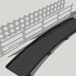 border and 2 fence R3.jpg Download STL file Border NINCO ext R3 and 2 model Fences • 3D printing object, etiennedenison