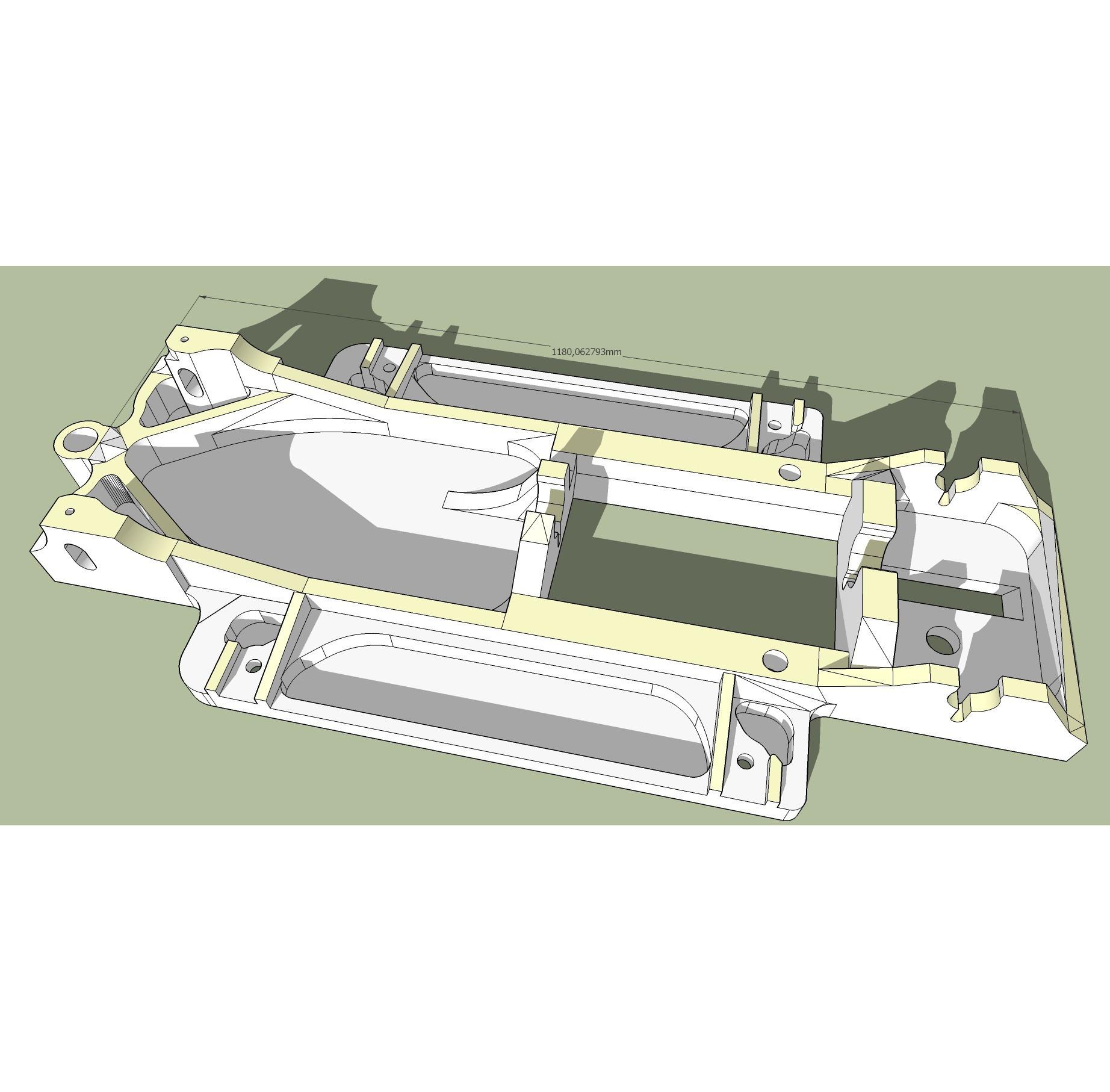 chassis_118mm_93empversion presentation.jpg Download free OBJ file Base for JAGUAR MK VII - slot car 1:32 • 3D printer model, SlotED
