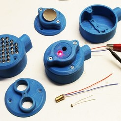 Download 3D printing templates Housing for sensors, Arduino and LASER barrier, etiennedenison