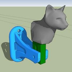 Download 3D model Cat-head shutters block, etiennedenison