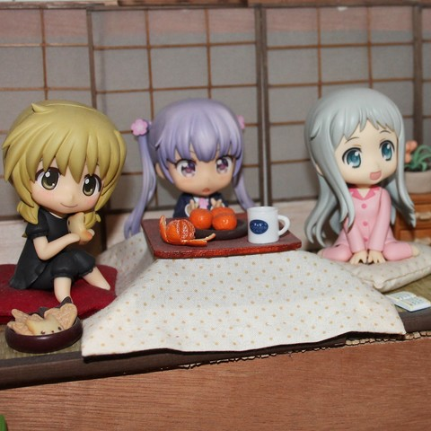 Download free 3D printing templates KOTATSU for NENDOROID, etiennedenison