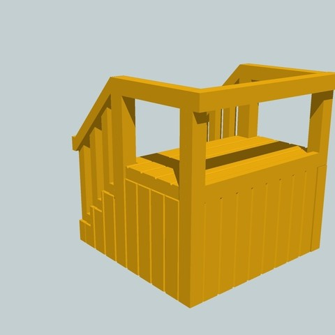Download free OBJ file Starter Stand for SCALEXTRIC - Model Diorama • 3D printable model, etiennedenison