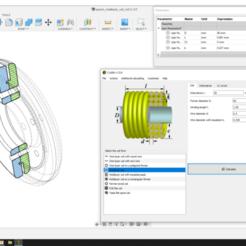 Télécharger modèle 3D gratuit Modèle de bobine multicouche paramétrique pour l'alimentation sans fil, Tvarok