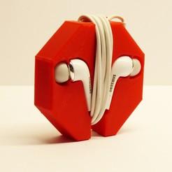 Impresiones 3D gratis Soporte de auriculares, jeremyschuck03