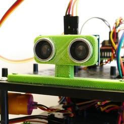 P1100598.JPG Télécharger fichier STL gratuit Support pour capteur à ultrasons • Design pour imprimante 3D, jeremyschuck03