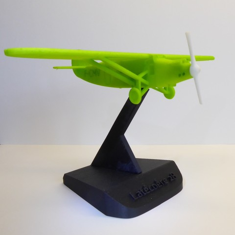 Download free 3D printing files Support for aircraft, jeremyschuck03