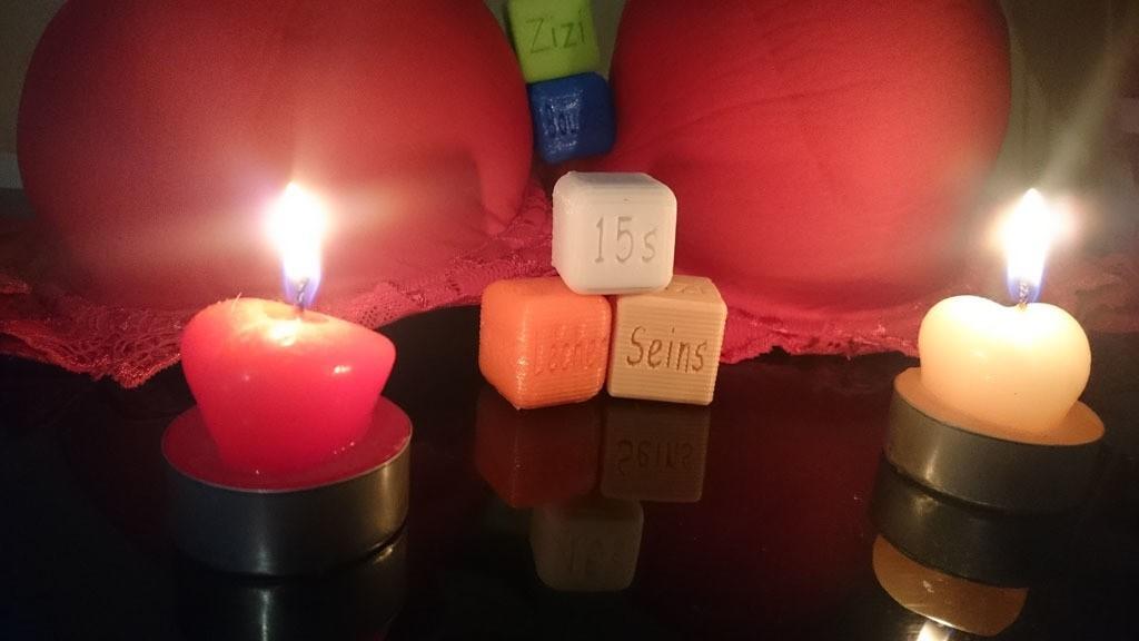 Dés 2coquin sextoyx cadeaux fête jeux plaisir couple.jpg Download STL file Naughty dice • 3D printable template, Overonez