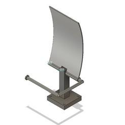 Free 3D printer model Paper Roller Roller Towel Holder Box, mickael59b