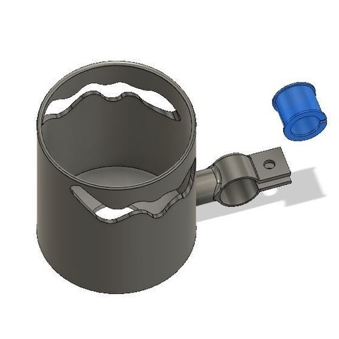 Free 3D print files Quick-Liberation Baby Stroller Landau Bicycle Bucket Carrier, mickael59b