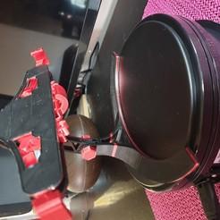 Descargar diseños 3D gratis Soporte telefónico mecánico de agarre y liberación rápidos, woodyphilipped2