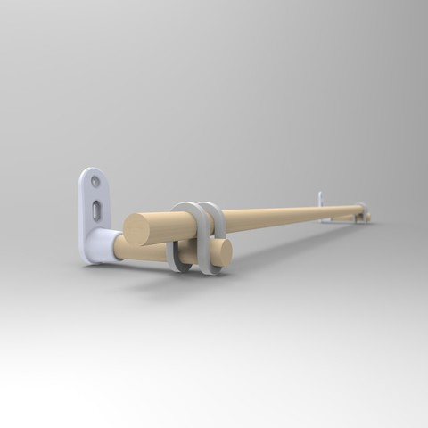 untitled.29.jpg Download STL file Curtain rod support • 3D printing template, alexandre_vincent