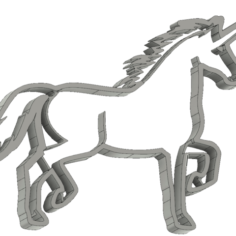 screenshot_20190213_182505.png Download STL file  8 X UNICORN COOKIE CUTTER • Object to 3D print, mariospeed