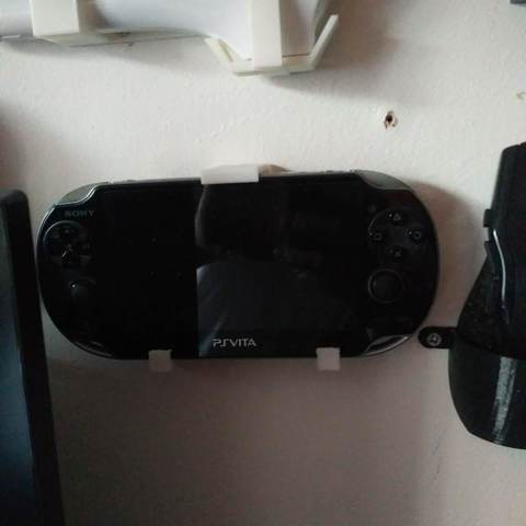 Free STL PSP holder, mariospeed