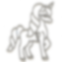 Modelos 3D 4 x cortador de galletas unicornio (1), mariospeed