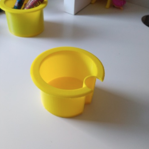 Capture d'écran 2018-07-24 à 10.22.39.png Download free STL file Ikea desk plug box with space for lamp cable • 3D print template, mariospeed