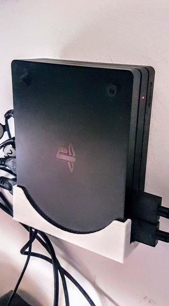 20200419_094113.jpg Download free STL file PSVR processor wall mount holder • Model to 3D print, mariospeed