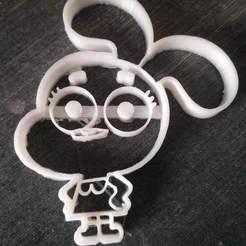Imprimir en 3D CORTADOR DE GALLETAS ANAIS, mariospeed
