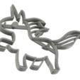 Plan imprimante 3D 8 X EMPORTE-PIÈCE LICORNE À L'EMPORTE-PIÈCE, mariospeed
