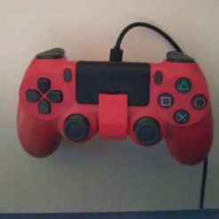 Free 3D printer model ps4 pad holder, mariospeed