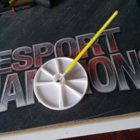 Download free 3D printer model paint mix plate, mariospeed