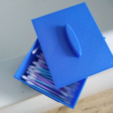 Capture d'écran 2018-07-24 à 11.30.12.png Download free STL file box for cotton swabs or enything you like • 3D printing template, mariospeed