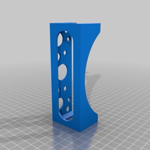 psvrprocessorholder.png Download free STL file PSVR processor wall mount holder • Model to 3D print, mariospeed