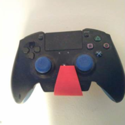 Free STL ps4 razer holder, mariospeed