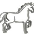 3D print files 4 X UNICORN COOKIE CUTTER (2), mariospeed