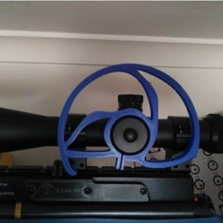 Free 3d print files wheel for scope, mariospeed