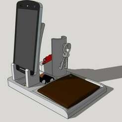 pocket_emptier_front.jpg Télécharger fichier STL gratuit Vide poche/stockage • Design à imprimer en 3D, aurelienlansmanne