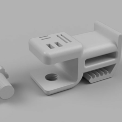 test.png Download free STL file Desk clamp for headset,cables and stuff • 3D printable object, aurelienlansmanne