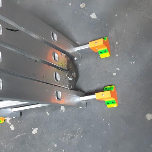 Download free STL Leg Folding Ladder, backledpablo