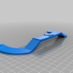 HANDLE_Mega_Zero_v2.png Download free STL file Handle Anycubic Mega Zero • 3D printing template, Jhonspikeder