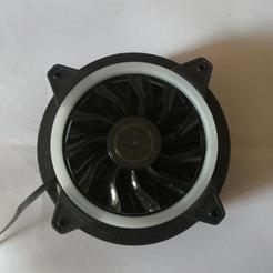 STL gratuit support ventilateur zalman reserator 1v2, francky9