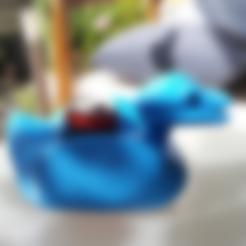 Kaula.stl Download free STL file Kaljankka duck • Object to 3D print, NusNus