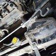 Download free 3D printer designs Nissan X-Trail hood support fastening clip, NusNus