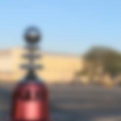 RA3_Tesla_coil_v5.stl Download free STL file Tesla coil Red Alert 3 • Template to 3D print, NusNus