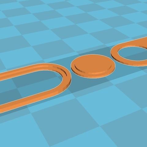 2.jpg Download free STL file Шторка для камеры ноутбука • Model to 3D print, Zool