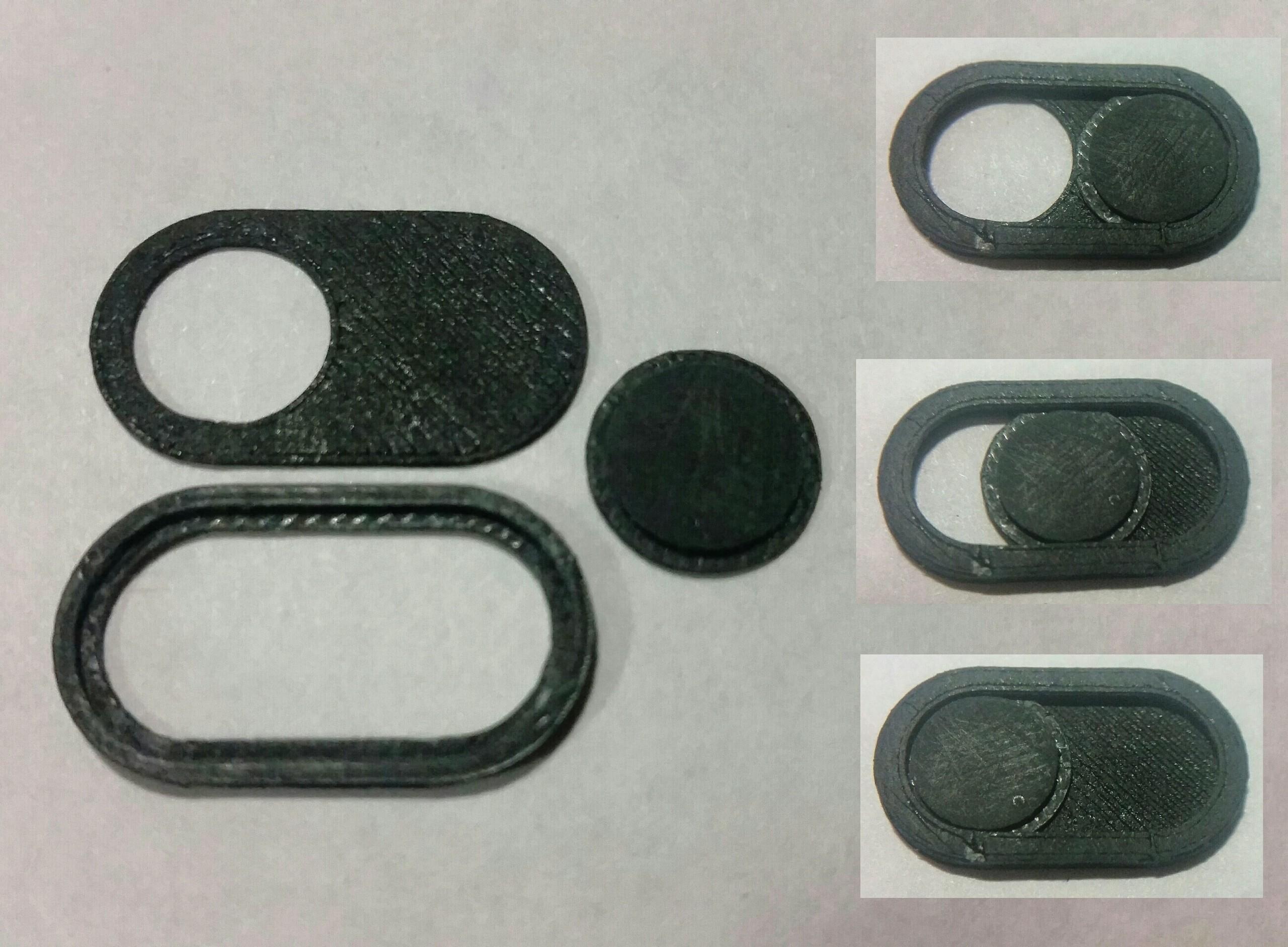 1.jpg Download free STL file Шторка для камеры ноутбука • Model to 3D print, Zool
