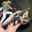 Descargar Modelos 3D para imprimir gratis Punto Rojo y Grip Angulado, BlueSky
