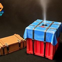 Descargar archivo 3D gratis Humidificador Airdrop, BlueSky